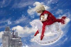 De prinses van de winter stock illustratie