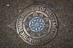 De Prinses van Diana van Londen van het Gedenkteken van Walvissen Royalty-vrije Stock Foto