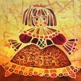 De prinses van Doll royalty-vrije illustratie