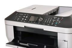 De printer en de scanner van de kleur Stock Afbeeldingen