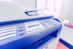 De Printer van het bureaunetwerk Stock Afbeeldingen