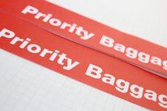 De prioriteit van het etiket Stock Foto