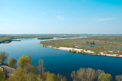 De Pripyat-rivier Royalty-vrije Stock Fotografie