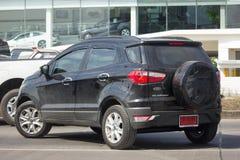 De privé auto van autoford ecosport suv voor Stedelijke Gebruiker Stock Foto