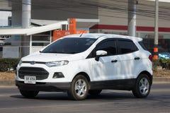 De privé auto van autoford ecosport suv voor Stedelijke Gebruiker Royalty-vrije Stock Foto's