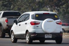 De privé auto van autoford ecosport suv voor Stedelijke Gebruiker Royalty-vrije Stock Foto