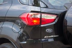 De privé auto van autoford ecosport suv voor Stedelijke Gebruiker Stock Foto's