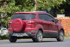De privé auto van autoford ecosport suv voor Stedelijke Gebruiker Stock Afbeelding