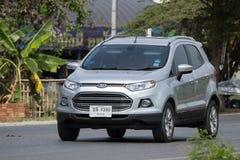 De privé auto van autoford ecosport suv voor Stedelijke Gebruiker Stock Fotografie