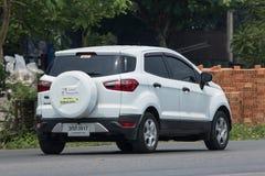 De privé auto van autoford ecosport suv voor Stedelijke Gebruiker Stock Afbeeldingen