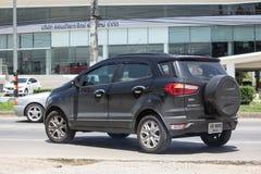De privé auto van autoford ecosport suv voor Stedelijke Gebruiker Royalty-vrije Stock Afbeelding