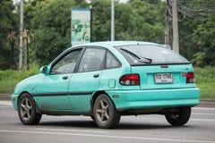 De privé Auto van Ford Fiesta American van de Sedanauto Royalty-vrije Stock Foto