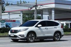 De privé auto van Honda CRV suv Royalty-vrije Stock Afbeeldingen