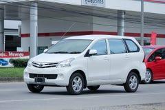 De privé auto van Toyota Avanza Royalty-vrije Stock Foto's