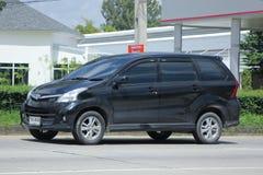 De privé auto van Toyota Avanza Stock Fotografie