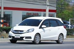 De privé bestelwagen van Honda Mobilio Stock Foto