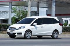De privé bestelwagen van Honda Mobilio Stock Fotografie