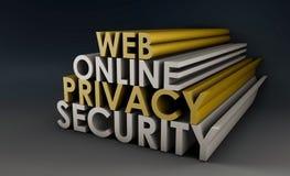 De Privacy van het Web Royalty-vrije Stock Foto's