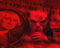 De problemen van de dollar Royalty-vrije Stock Foto