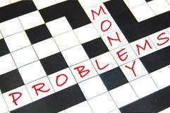 De problemen van het geld Royalty-vrije Stock Fotografie