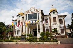 De proclamatie van Onafhankelijkheidsgedenkteken is een museum in Malacca Stock Afbeeldingen