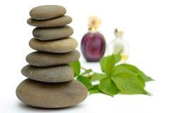 De producten natte spackgroun van Wellness Royalty-vrije Stock Afbeelding