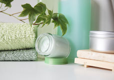 De producten van Bodycare Royalty-vrije Stock Foto
