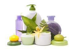 De producten van Bodycare Stock Afbeeldingen