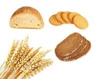 De producten van de bakkerij Royalty-vrije Stock Afbeeldingen