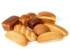 De producten van de bakkerij Stock Afbeeldingen