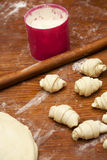 De producten van de bakkerij Royalty-vrije Stock Afbeelding