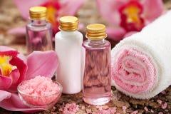 De producten van de lichaamsverzorging Stock Fotografie