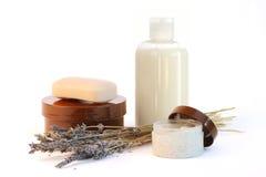 De producten van de lichaamsverzorging Royalty-vrije Stock Foto's