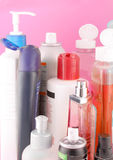 De producten van de schoonheid Stock Afbeeldingen