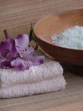 De producten van het bad. stock afbeeldingen