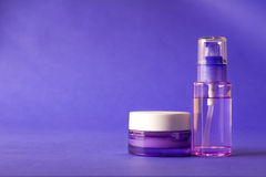 De producten van het schoonheidsmiddel en van de schoonheid Stock Afbeelding