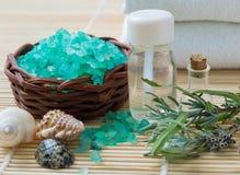 De producten van Wellness Royalty-vrije Stock Afbeeldingen