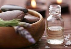 De producten van Wellness Stock Afbeeldingen