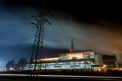 De productie van de elektriciteit Stock Foto's