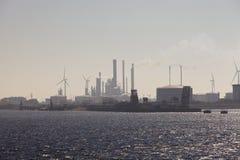 De productie van de energie stock afbeelding