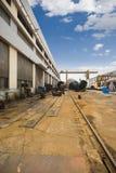 De productiefabriek van machines Stock Afbeeldingen