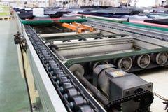 De productielijn van de fabriek Stock Afbeeldingen