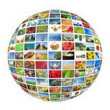 De productietechnologie van de televisie Royalty-vrije Stock Foto's