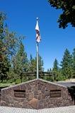 De proef Butte Kromming Oregon van de Begraafplaats Stock Afbeelding