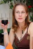 De proever van de wijn Royalty-vrije Stock Foto