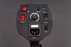 De professionele Controles van de Stroboscoop van de Fotografie stock foto's