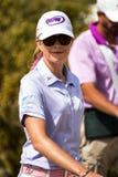 De professionele golfspeler Paula Creamer van LPGA royalty-vrije stock foto