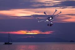 De professionele helikopter Stock Fotografie