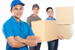 De professionele leveringsdiensten Stock Afbeelding