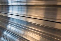 De profielen van het aluminium. royalty-vrije stock afbeelding